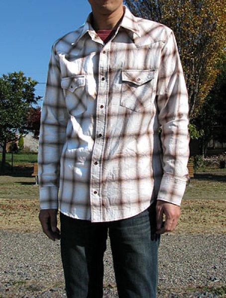 画像1: メンズウエスタンシャツ (1)
