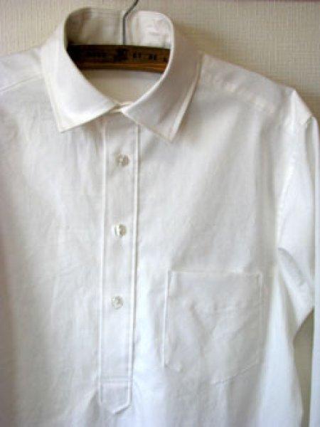 画像1: メンズプルオーバーシャツ (1)