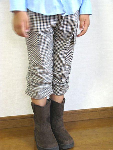 画像1: くしゅくしゅカーゴパンツ (1)