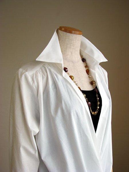画像1: カシュクールシャツ (1)