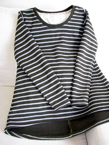 画像1: テイルカットTシャツ (1)