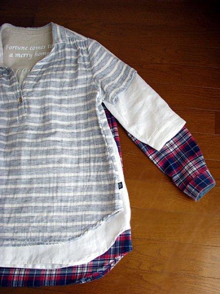 画像1: よくばりシャツチュニック (1)