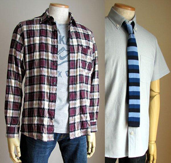 画像1: 普通のシャツメンズ (1)