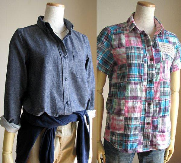 画像1: 普通のシャツレディース (1)