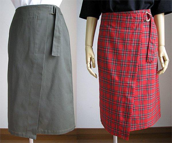 画像1: ラップタイトスカート (1)