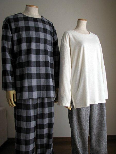 画像1: 衿なしパジャマ (1)
