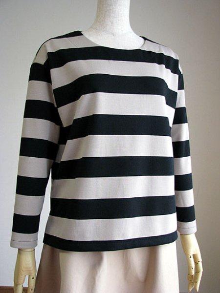 画像1: ボックスシルエットTシャツ (1)