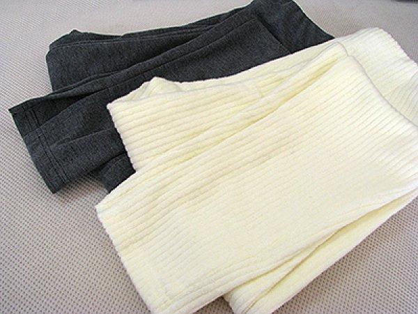画像1: 裾スリットレギンス (1)